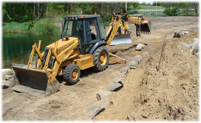 Dullock Excavating, LLC. - Site Preparation, Ponds, Demolition, Snow Removal, Finish Grading, and more!
